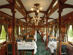 Pride of Africa Dining Car