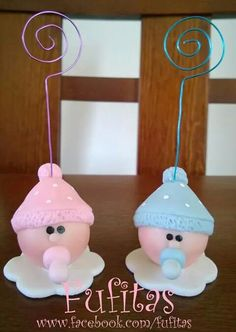 Nacimiento Baby Shower Pasta, Baby Shower Cake Pops, Baby Shower Balloons, Baby Boy Shower, Souvenirs Baby Shower Niña, Clay Magnets, Polymer Clay Figures, Baby Shawer, Clay Baby
