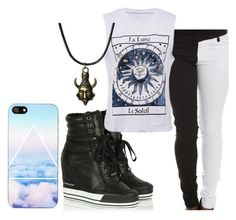 """Untitled #311"" by lean-mean-dean on Polyvore featuring DKNY and NOVA"