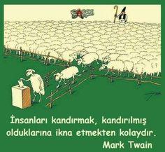 """Kör çobanın sürüsünün sonu uçurumdur."" // Dede Korkut Simple Elegant Wedding Dress, Good Sentences, Life Changing Quotes, Mark Twain, Great Words, Sign Printing, Tell The Truth, Meaningful Quotes, Funny Images"