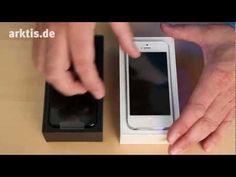 iPhone 5 Unboxing (by arktis.de) - Wir packen das iPhone 5 gleich 2 x aus, einmal in Schwarz und einmal in Weiß.