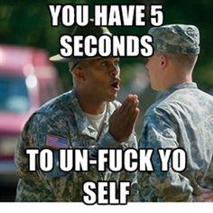 drill sergeant meme - Google Search
