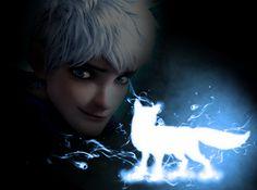 Jack's Patronus - Arctic Fox by TreepeltA113.deviantart.com on @deviantART