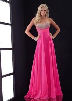 NEW! Chic Chiffon Sweetheart Neckline Floor-length A-line Prom Dress