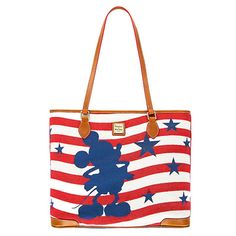 6a787f9e4dd5 Disney Dooney   Bourke Mickey Americana Tote Bag New with Tags