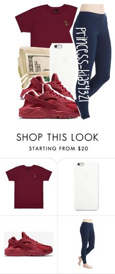 """""""*"""" by princess-kia54321 ❤ liked on Polyvore featuring October's Very Own and NIKE"""