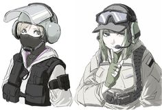 GSG-9 Operative:IQ and GROM Operative:Ela