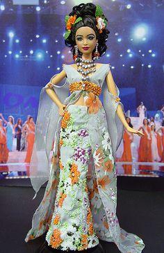 2005 OOAK Ninimomo's Miss Guam Barbie