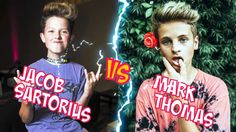Jacob Sartorius VS Mark Thomas l Battle Musers l Musical.ly Compilation