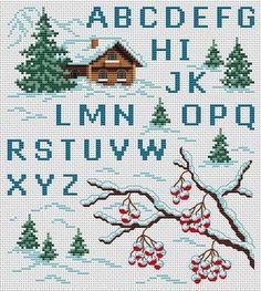 Para as amantes dos artesanatos em ponto cruz nunca podem faltar os gráficos de letras para bordar em ponto cruz, e hoje você pode imprimi-los. Peguei na internet vários modelos de alfabetos em ponto cruz para que vocês possam imprimir e bordar em casa. É claro que você pod