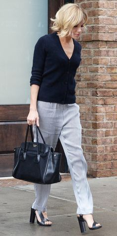 Look of the Day - January 13, 2015 - Sienna Miller from #InStyle