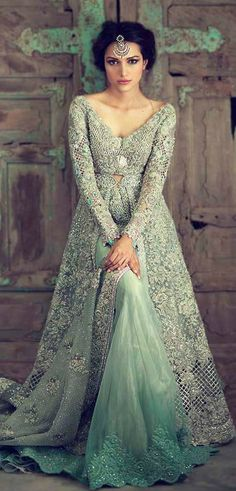 Engagement dresses for Indian bride. If you are looking for the perfect engagement dress, here is a list of the top 10 designs for you. Indian Engagement Outfit, Engagement Dress For Bride, Engagement Gowns, Indian Wedding Gowns, Indian Gowns, Indian Attire, Indian Outfits, Bridal Outfits, Bridal Dresses