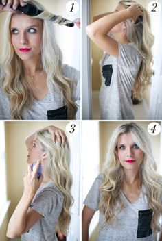 The Easiest Trick for Natural-looking Curls