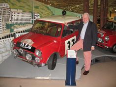 Paddy Hopkirk and the famous winning mini cooper s