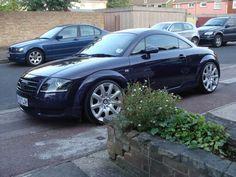 Audi TT with Bentley wheels