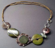 Continually inspired by nature, stones, sea glass, drift wood and all things green and natural, my designs reflect nature and man,...