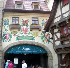 Sommerfest in Epcot's Germany Pavilion