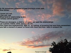 Thoughts By Param : past life glimpses !!