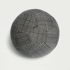 Textile footballs made from wool fabrics 2008-2009. They were available at Partners & Spade in New York, Still Light in Barcelona & Tenue de Nîmes in Amsterdam. Sold out now.