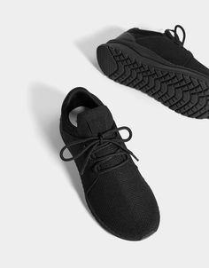 Men s mesh sock-style sneakers - Bershka  bershka  newin  trends  outfits   look  moda  fashion  shoes  zapatos  deportivas  sneakers  man  modern   trendy ... 78663914f