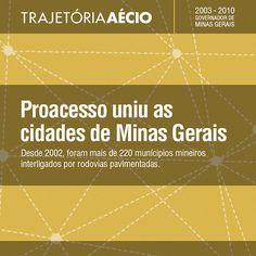 Proacesso uniu as cidades de Minas Gerais. #OBrasilTemJeito