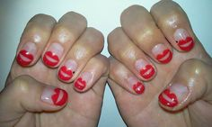 mei kawajiri manicure. red lips. #nails #nailart #notd #naildesigns #lips #redlips #nailsbymei #meikawajiri #beauty #divalicious