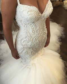 "2,148 Likes, 38 Comments - George Elsissa (@georgeelsissa) on Instagram: ""#finalfitting #details Christie #bride #georgeelsissa custom couture #timmyloveschristie"""
