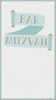 Plan To Get Called The Torah With This Free Paperless Evite Invitation Celebrate A Bar Mitzvah