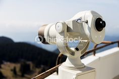 Stock Photo : Coin Operated Telescope