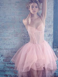 Ballerina Gown  @wpn we for sure need these for hooting around town. I mean, it would look a-mazing with our coloring!