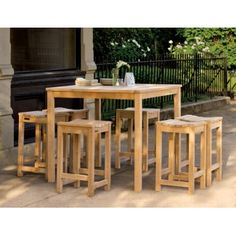 The versatility of The Chelsea dining tables makes them suitable for any outdoor dining setting. Available in five lengths, these functional tables can be used standing alone or adjoined to create more dining space. Handcrafted of shorea hardwood using mortise and tenon joinery, this collection will prove to last for years. Shipped KD, assembly required.