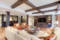 Kleinburg - traditional - Basement - Toronto - Frahm Interiors - Burlington ON