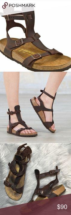 Birkenstock chania brown gladiator sandals 7 Women's size 7 Birkenstock gladiator sandals Birkenstock Shoes Sandals