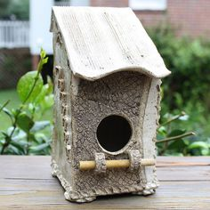 Hand Built Pottery Bird Houses | Bird House | Flickr - Photo Sharing!