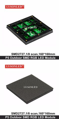 2017 Factory Selling Full Color 160x160mm 1/8 Scan P5 Outdoor Smd Led Display Module For Hd Exterior Led Video Display