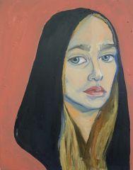 Self Portrait from Jemima Kirke - actress on HBO series Girls