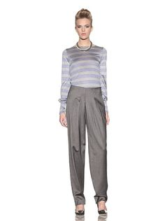 Giorgio Armani  $329  Pleated Pants.    There's something wrong with the fitting ...