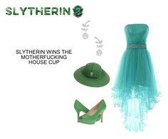 Slytherin Wins