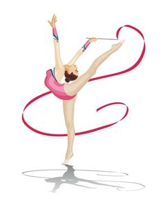 Dancing Drawings, Art Drawings, Rhythmic Gymnastics, Art Oil, Biscotti, Beautiful Pictures, Ballet, Poses, Lettering