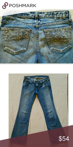 Silver Jeans Lola Flare Womens Size 29 Tagged 29/33 Buckle ...