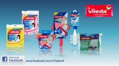 Vileda cleaning products - a giveaway worth £25.00