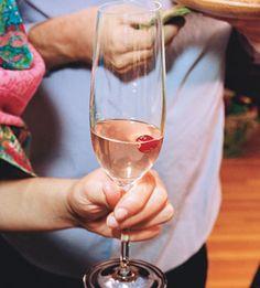 Cranberry Champagne Cocktail - Bon Appétit