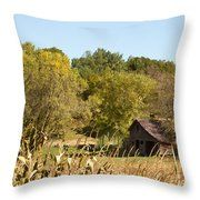 Rustic Escape Throw Pillow by Inspired Arts
