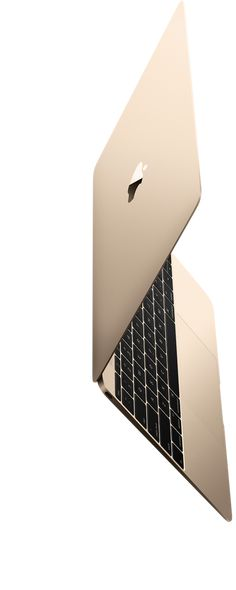With the new MacBook, Apple set out to do the impossible: engineer a full-size experience into the lightest and most compact Mac notebook ever. That meant reimagining every element to make it not only lighter and thinner but also better. 13.1mm THIN 2lb. LIGHT