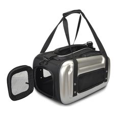 Backpack Pet Carrier   ... to use and store Sherpa Sport Pop Tote Airline Pet Carrier in Silver