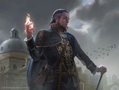 As incríveis ilustrações de fantasia para o game Magic: the Gathering de Chris Rallis