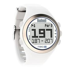 Golf Balls Ideas | Bushnell NEO XS Golf GPS Rangefinder Watch WhiteBlue -- Details can be found by clicking on the image. Note:It is Affiliate Link to Amazon.