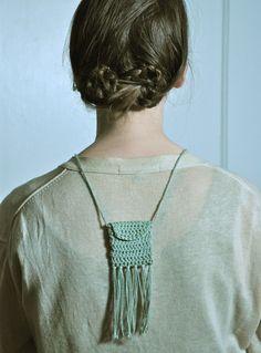 neckpiece crochet