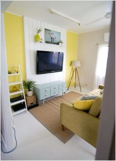 Design an Interesting and Chic TV Wall 6