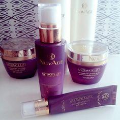 Minäkö keski-ikäinen?: Oriflame Novage Ultimate Lift uusi ihonhoitosarja ...